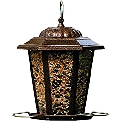 Woodlink NA11193 Copper Carriage Bird Feeder, 8-1/2 Inch - Quantity 4