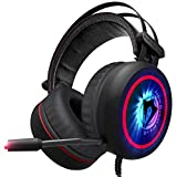 Robot Pro v6. 2018 Gaming Headset 7.1 Best Surround Stereo Sound