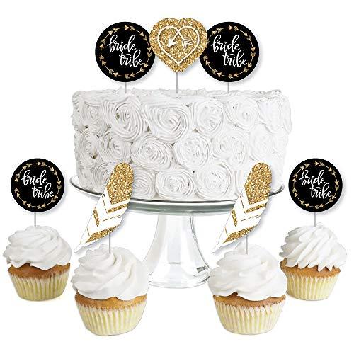 Bride Tribe - Dessert Cupcake Toppers - Bridal