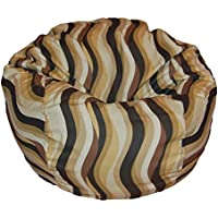 Ahh! Products Wavelength Latte Washable Kid Bean Bag Chair