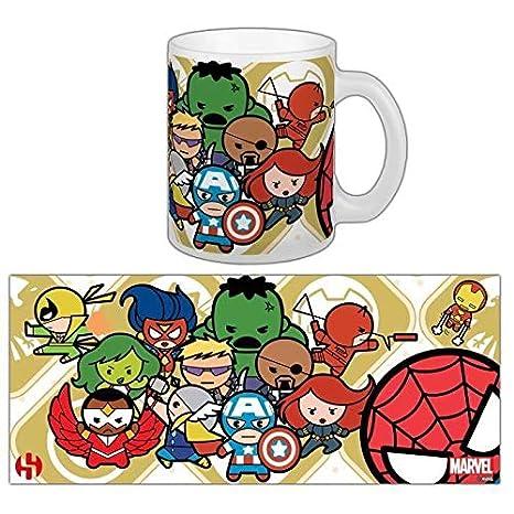 Kawaii Avengers Marvel Mug Groupe 1 v0mNn8wO