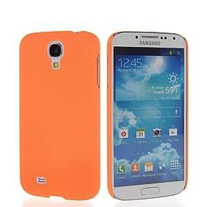 SHOPPINGBOX Hard Back Rubberized Mesh Rubber Etui Case Cover For Samsung Galaxy S4 I9500 Orange