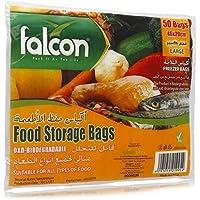 Falcon Food Storage Bags - 50 Pieces