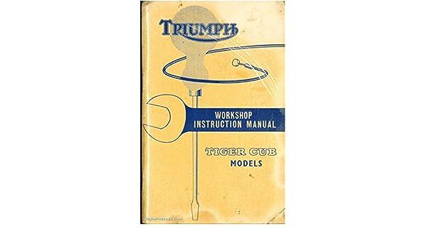 Terrier T15 T20 T20C T20S Workshop Instruction Manual Triumph ...