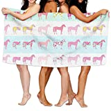 Horse Animal Full Of Personality Luxury Bath Sheet Lightweight Absorbent Fast Dry Bath-sheets Superfine Fiber Large Bath Towel Intended For Teens
