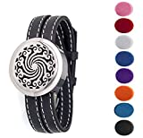 FLYMEI® Aromatherapy Essential Oil Diffuser Bracelet with Leather - Best Reviews Guide