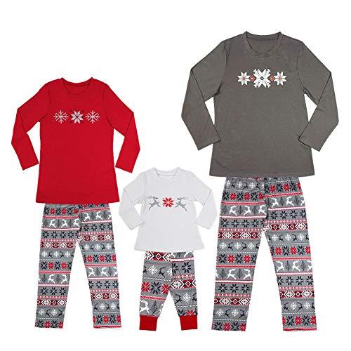 Christmas Pajamas Family Xmas Pajamas Sets Outfit Deer Print Matching  Family PJS Mom Dad Kids Nightwear Sleepwear 8ce4fd797