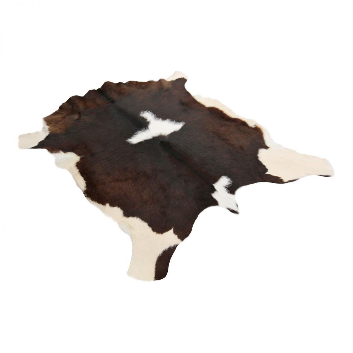 Kalbsfell handsortiert Qualitätsfell aus Südamerika Qualitätsfell handsortiert Unikat Größe 120-130, Farbe Braun Weiß e1767e