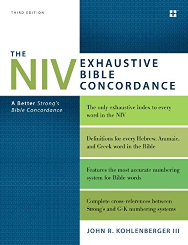 Price comparison product image The NIV Exhaustive Bible Concordance : A Better Strong's Bible Concordance(Hardback) - 2015 Edition