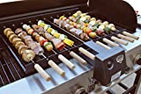 TROOPS BBQ Kabob Buddie Motorized Battery Operated Kabob Rotisserie. The ultimate grill accessory and complete setup for great kabobs anywhere!