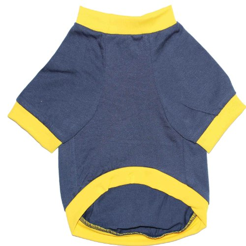 P&Q Estore Pet Apparel Soft Shirt Costume Clothes for Small Dog and Cat Purple Blue I am Diggin' You Small