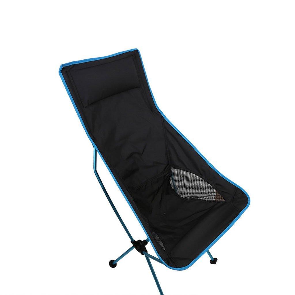 LongYu Outdoor Camping Klappstuhl Portable Moon Chair Ultralight Aluminiumlegierung Angeln Stuhl Casual Sketch Stuhl