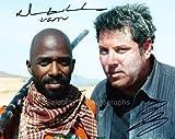 NTARE GUMA MBAHO MWINE and GREG GRUNBERG as Usutu and Matt Parkman