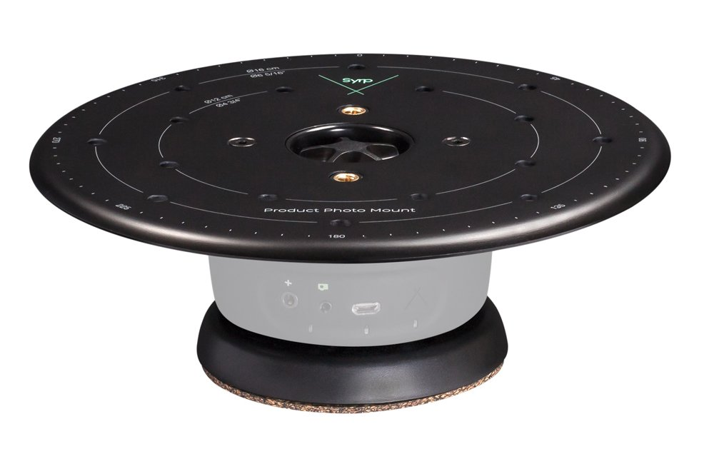 Syrp Product Turntable, A Smart Turntable to Create 360 Images, Compatible with Smartphones and DSLR Cameras, Additional Motion Control Required, Full App Control Options Available - Aluminium