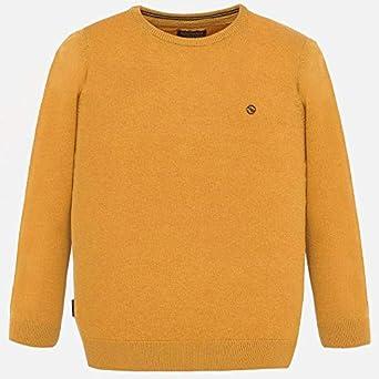 Mayoral . Jersey algodón básico Cuello Redondo para niño Caramelo 6 años: Amazon.es: Ropa y accesorios