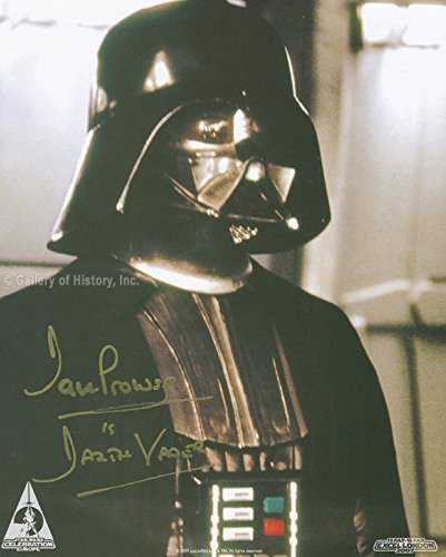 Darth Vader Actor Costume (Dave Prowse - Photograph Signed)