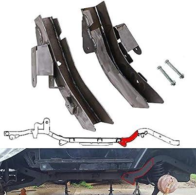 Amazon Com Nixface Rear Set Trail Control Arm Frame Rust Repair Kit For 1997 2006 Jeep Wrangler Tj Automotive