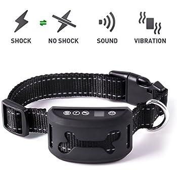 Amazon Com Bark Collar 2018 Upgraded Version Dog Bark