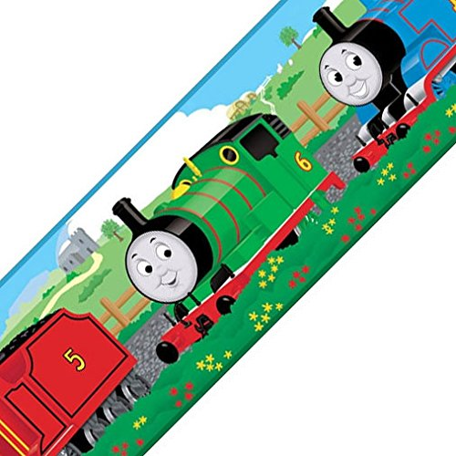 Thomas The Tank Wall Border - Thomas Train Tank Engine Self Stick Wall Border Accent Roll