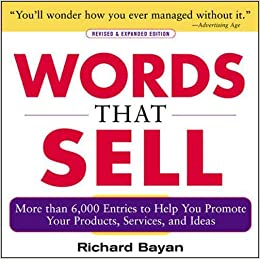 Amazoncom Words That Sell More Than 6000 Entries To Help