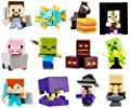 Complete Set of 12: Minecraft End Stone Blind Box Mini-Figure Series 6