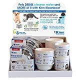 Kleanbowl Table Top Display - The Healthier Pet Water & Food Bowl for Dogs & Cats