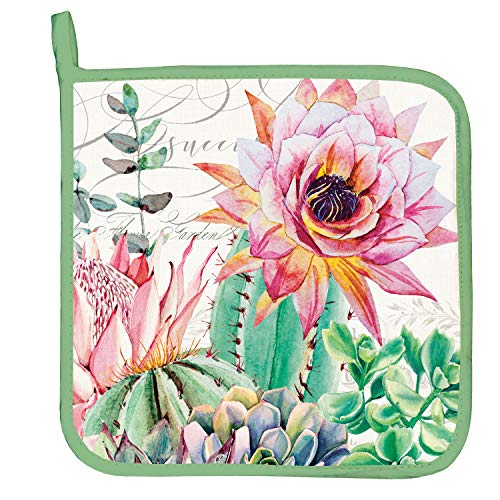 - Michel Design Works Potholder, Pink Cactus