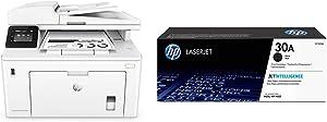 HP LaserJet Pro M227fdw All-in-One Wireless Laser Printer (G3Q75A) with Standard Yield Black Toner Cartridge