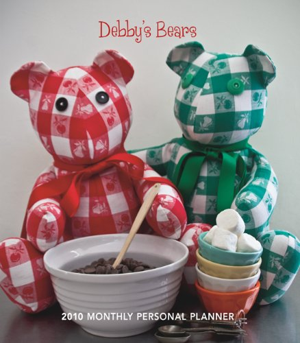 Debby's Bears 2010 Monthly Personal Planner (Bears 2010 Calendar)