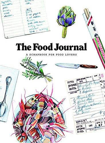 Food Scrapbook - The Food Journal: A Scrapbook for Food Lovers