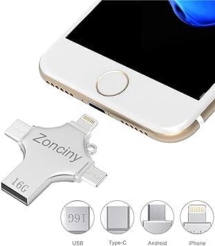 Unidad flash USB externa de 16GB: Amazon.es: Electrónica