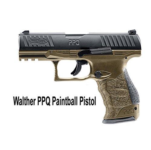 T4E Walther PPQ M2 .43 caliber Paintball Pistol TAN (DEB)