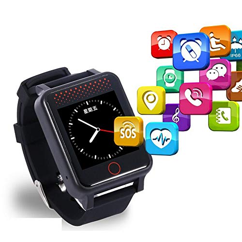 GPS Smart Watches, Elderly Positioning Watch Phone Anti-lost Bracelet Tracking Tracker – Two-way Call/SOS One-button…