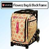 Zuca Bag Flowerz (Black Frame) by ZUCA