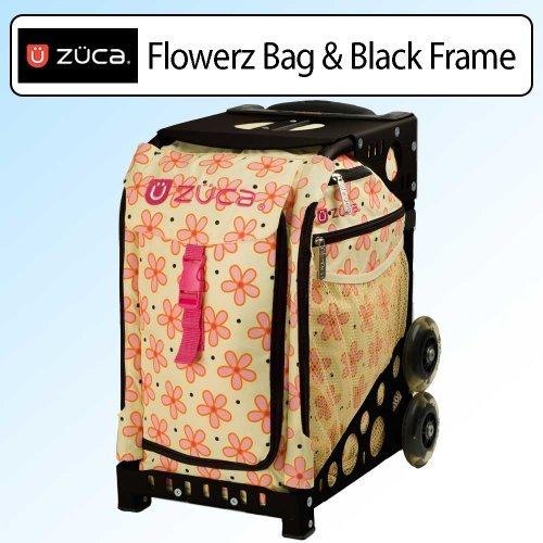 Zuca Bag Flowerz (Black Frame) by ZUCA by ZUCA