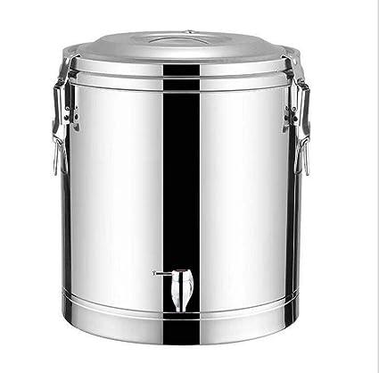 LJXWH Cubo de Sopa de Barril de té de Barril Aislado de Gran ...