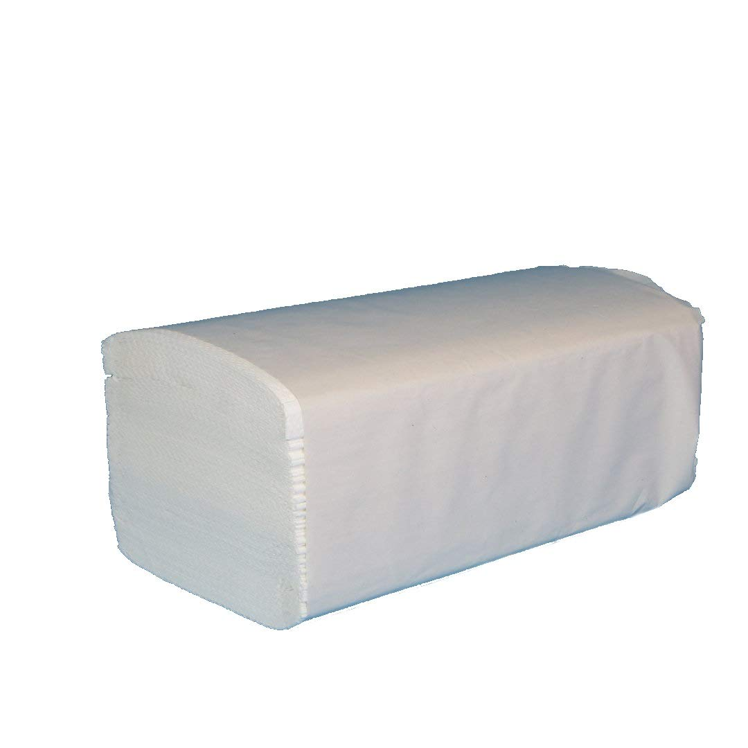 5 x 33cm UK Manufactured//Top Quality We Can Source It Ltd Case of 2430 Pure White 2 Ply C-FOLD PAPER HAND TOWELS