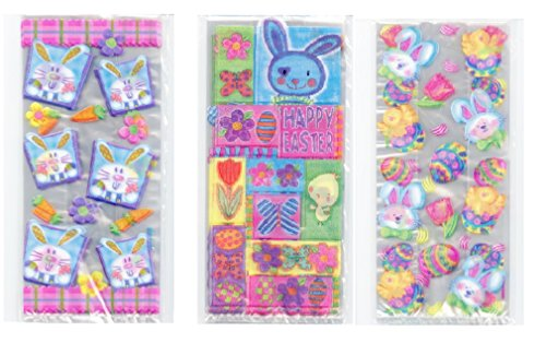 50 Easter springtime Candy Treat (Spring Bunny Tie)