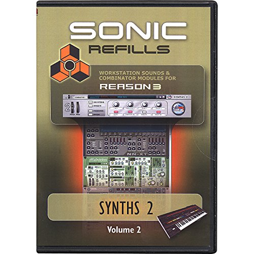 Sonic Reality Reason 3 Refills Vol. 02: Synths (Sonic Refills Collection)