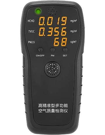 Detector de Formaldehído Profesional para Interiores PM2.5 HCHO Partículas Exactas Pruebas de Calidad de
