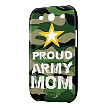 Inspired Cases 3D Textured Proud Army Mom Military Case for Samsung Galaxy S3