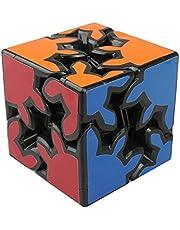 HJXDtech - KSZ clásico cubo de 2x2x2 de engranajes la velocidad pegatina cubo mágico irregulares