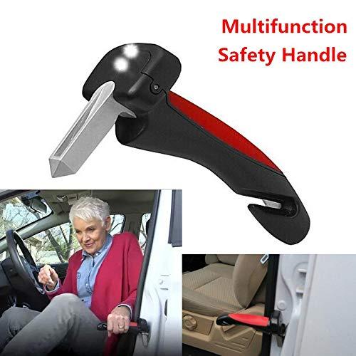 Zehui Car Safety HandyBar Handle Door Aider Handles Assist Bar Parts Window Breaker