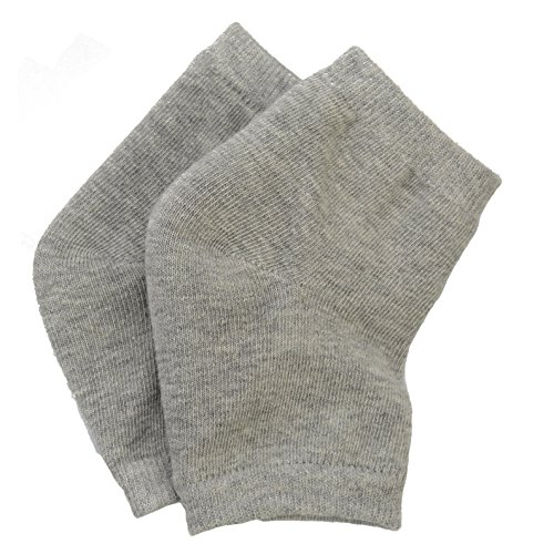 3ad0e7891 Makhry 2 Pairs Moisturizing Silicone Gel Heel Socks for Dry Hard Cracked  Skin Open Toe Comfy