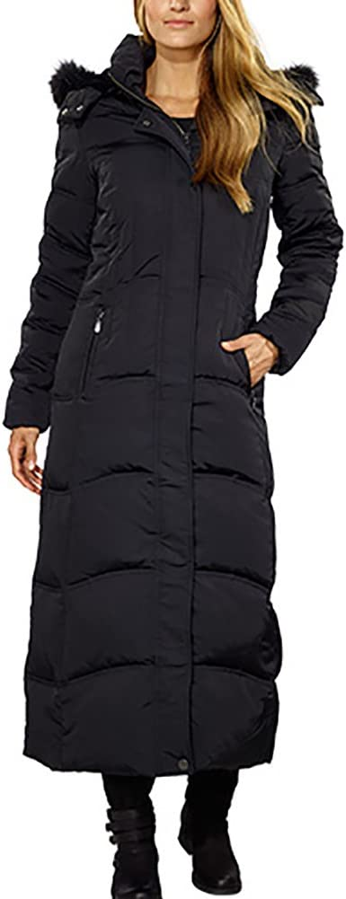 1 Madison Ladies' Down Coat with Faux