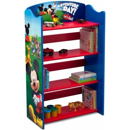 orable Corner Adjustable Bookshelf Organizer (Mickey Mouse) ()