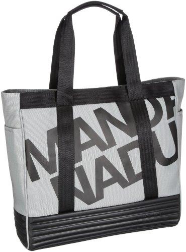 Mandarina Duck 7LT01 - Bolsa al hombro de nailon unisex Gris