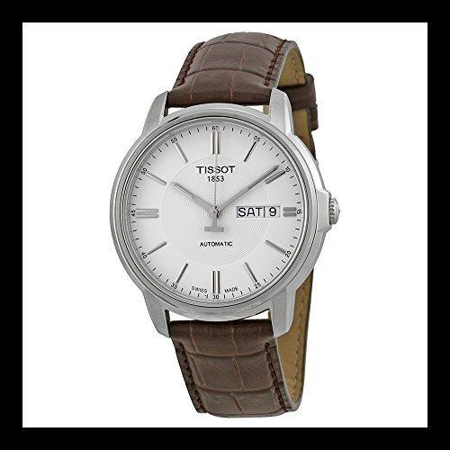 tissot-mens-t0654301603100-automatic-iii-swiss-automatic-watch-with-brown-band