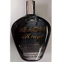 Beach Kings 100X Black Bronzer for Men Indoor Tanning Bed Lotion 13.5 Oz/ 400 Ml by TAN