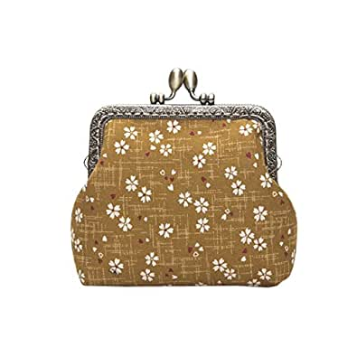 Amazon.com: Monedero estilo japonés para mujer y niña, bolsa ...